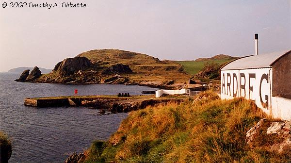 [Ardbeg Distillery Shoreline - Fall 1998]