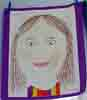 [Clara's Year 7 Self Portrait]