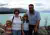 [Family self-portrait at Lake Pukaki, Mt. Cook Overlook (on a clear day...)]