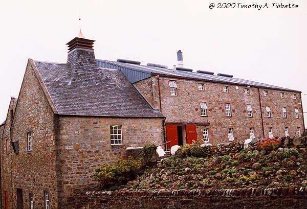 [Glenmorangie Distillery - Old Kiln Building - Fall 1998]