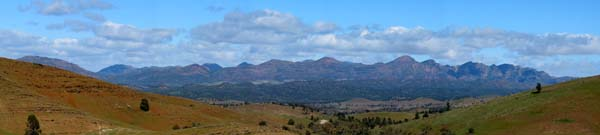 [The View from Stoke's Hill, Flinders Ranges]
